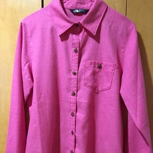 North Face Button Down - Women's M